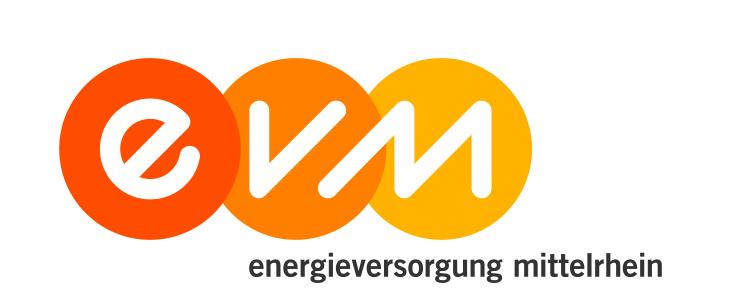 evm energieversorgung mittelrhein logo